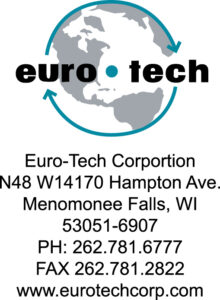 Contact Euro-Tech Corporation at 262-781-6777 for their terms of sale