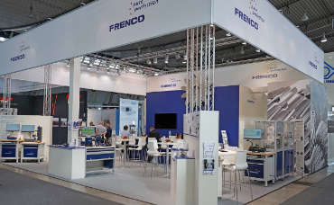 Gear and Spline Specialist Frenco Gmbh trade show booth