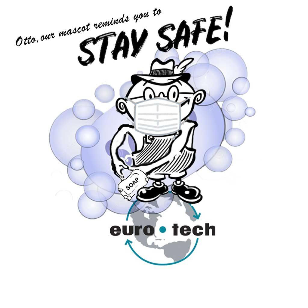 Otto, our Euro-Tech Mascot