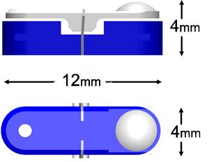 Knaebel IET mini-probe for gage builders