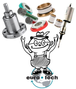 Otto, our Euro-Tech Corporation Mascot